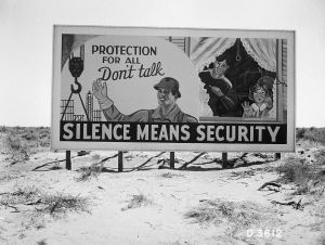 Hanford-billboard-Silence-Means-Security