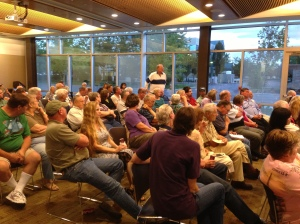 Storytelling night at the Richland Public Library