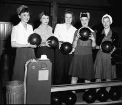 bowling then