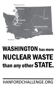 Washington has more nuclear waste than any other state